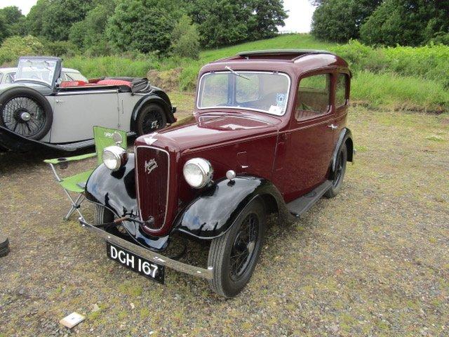 Leven Rally Fife Heritage Railway - Kirkland classic car show 2018